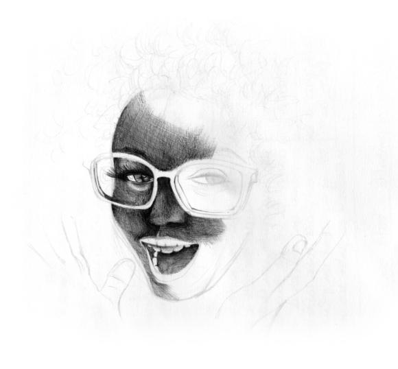 Gouache, crayons, stylo et aquarelle