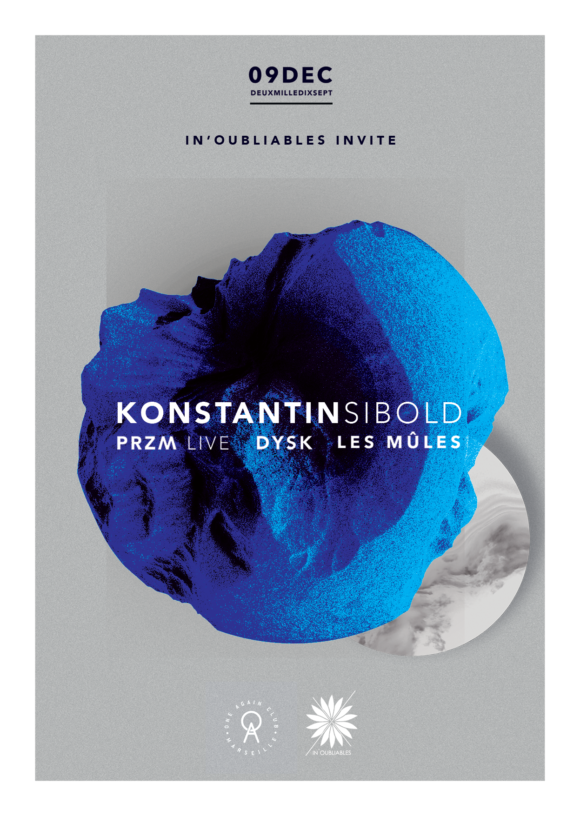 In'oubliables x Konstantin Sibold